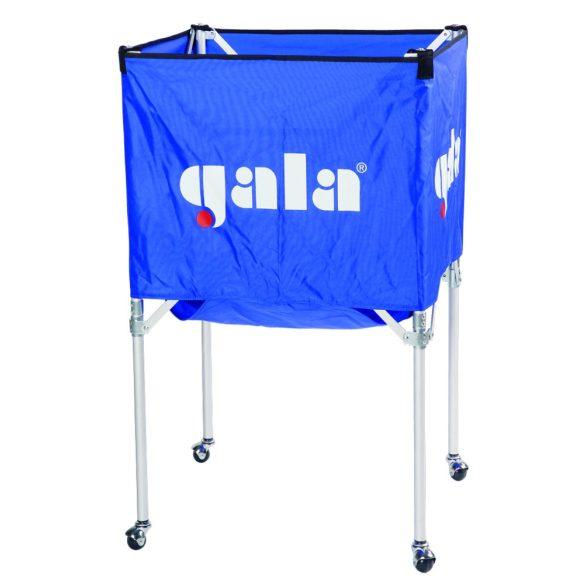 Gala összecsukható aluminium labdatartó kocsi 15-20 labda tárolásához szállításához