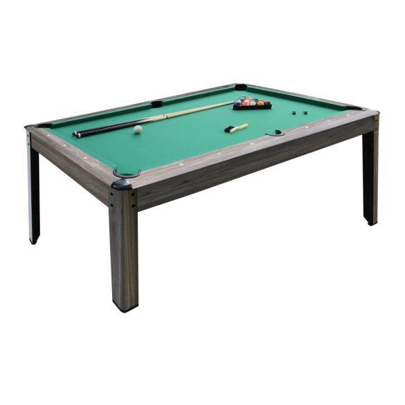 Garlando Austin 7 billiard asztal, 225x125 cm, külön rendelhető fedlappal