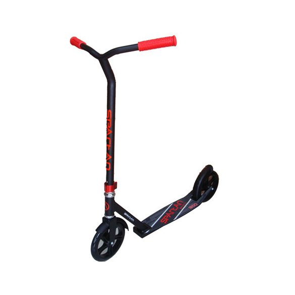 Stunt jellegű scooter fekete/piros