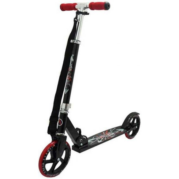 Gigant Wheel alu roller óriás piros 200x34mm kerekekkel - gyermek