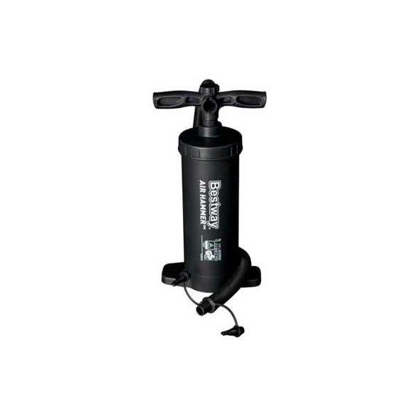 Talpas camping pumpa 3,7 l kapacitás, 3 toldat, 37 cm