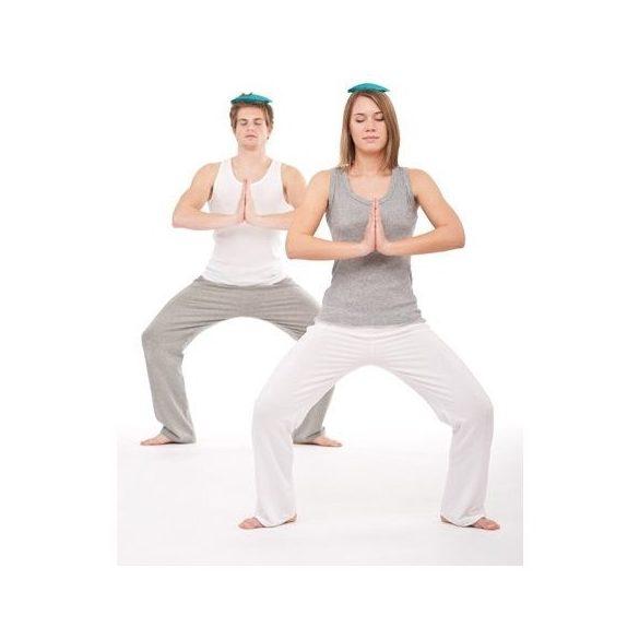 Joga egyensúlyozó fejpárna 15x2 cm, 340 gr. súly
