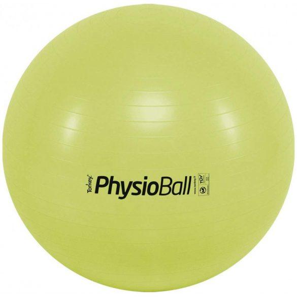 Fitball gimnasztika labda maxafe, 65 cm - SELYMESZÖLD, ABS biztonsági